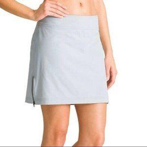 Athleta Skort Skirt shorts sz 4 Gray Jenner Moto